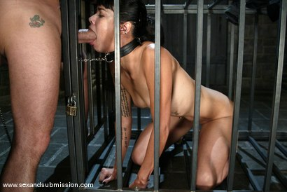 Photo number 6 from Chris Charming and Dana Vespoli shot for Sex And Submission on Kink.com. Featuring Chris Charming and Dana Vespoli in hardcore BDSM & Fetish porn.