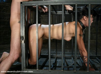 Photo number 9 from Chris Charming and Dana Vespoli shot for Sex And Submission on Kink.com. Featuring Chris Charming and Dana Vespoli in hardcore BDSM & Fetish porn.