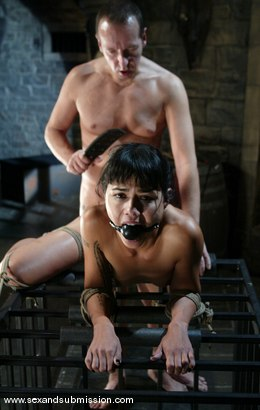 Photo number 14 from Chris Charming and Dana Vespoli shot for Sex And Submission on Kink.com. Featuring Chris Charming and Dana Vespoli in hardcore BDSM & Fetish porn.