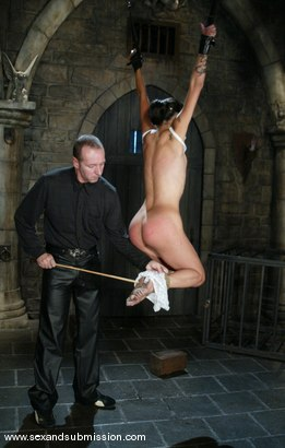 Photo number 4 from Chris Charming and Dana Vespoli shot for Sex And Submission on Kink.com. Featuring Chris Charming and Dana Vespoli in hardcore BDSM & Fetish porn.