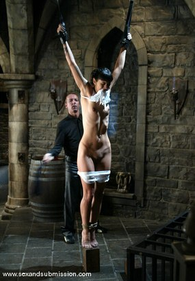 Photo number 2 from Chris Charming and Dana Vespoli shot for Sex And Submission on Kink.com. Featuring Chris Charming and Dana Vespoli in hardcore BDSM & Fetish porn.