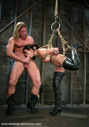 Photo number 7 from Evan Stone and shy love shot for Sex And Submission on Kink.com. Featuring Evan Stone and shy love in hardcore BDSM & Fetish porn.