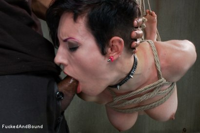 Photo number 6 from Proven Whore shot for Fucked and Bound on Kink.com. Featuring Mickey Mod and Iona Grace in hardcore BDSM & Fetish porn.