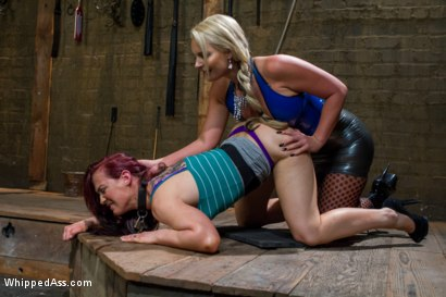 Photo number 2 from Phoenix Marie Dominate Cheyenne Jewel shot for Whipped Ass on Kink.com. Featuring Cheyenne Jewel and Phoenix Marie in hardcore BDSM & Fetish porn.