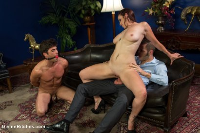 Photo number 13 from Ball Bust. Peg. Cuckold: Unorthodox Methods To SAVE YOUR MARRIAGE shot for Divine Bitches on Kink.com. Featuring Lance Hart, Wolf Hudson and Bella Rossi in hardcore BDSM & Fetish porn.