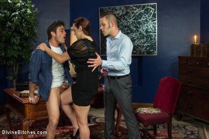 Photo number 2 from Ball Bust. Peg. Cuckold: Unorthodox Methods To SAVE YOUR MARRIAGE shot for Divine Bitches on Kink.com. Featuring Lance Hart, Wolf Hudson and Bella Rossi in hardcore BDSM & Fetish porn.