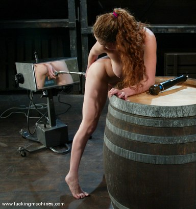 Photo number 14 from Ashley Gracie shot for Fucking Machines on Kink.com. Featuring Ashley Gracie in hardcore BDSM & Fetish porn.