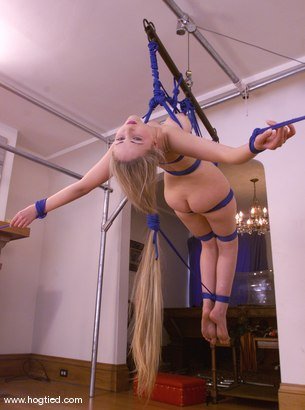 Photo number 5 from Chanta-Rose shot for Hogtied on Kink.com. Featuring Chanta-Rose in hardcore BDSM & Fetish porn.