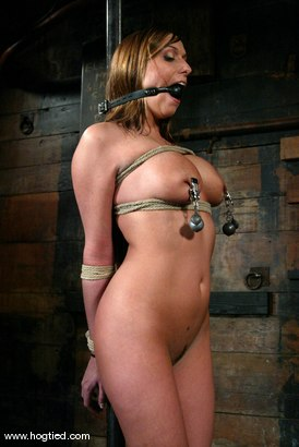Photo number 6 from Sasha Sparks and Lacie Hart shot for Hogtied on Kink.com. Featuring Lacie Hart and Sasha Sparks in hardcore BDSM & Fetish porn.