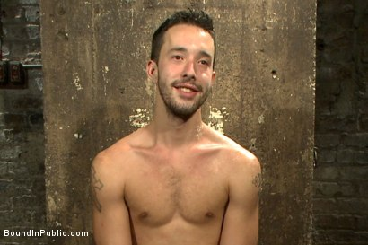 Photo number 15 from Gangbang and cum for a stuck up go-go boy shot for Bound in Public on Kink.com. Featuring Isaac Hardy, Connor Maguire and Dayton O'Connor in hardcore BDSM & Fetish porn.