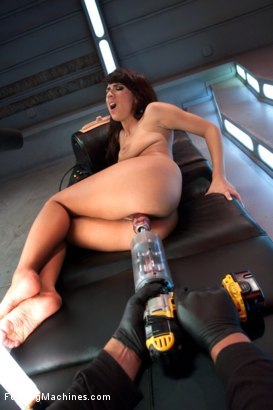 Photo number 9 from The Slip and Slide Orgasm Girl Returns to FuckingMachines shot for Fucking Machines on Kink.com. Featuring Evi Fox in hardcore BDSM & Fetish porn.