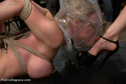 Photo number 10 from Darling Gets Fucked on Camera For the First Time at Kink! shot for Public Disgrace on Kink.com. Featuring John Strong and Dee Williams in hardcore BDSM & Fetish porn.