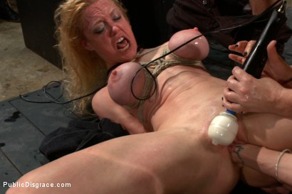 Photo number 7 from Darling Gets Fucked on Camera For the First Time at Kink! shot for Public Disgrace on Kink.com. Featuring John Strong and Dee Williams in hardcore BDSM & Fetish porn.
