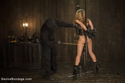 Photo number 11 from Hot Blonde is devastated by sadistic torment and screaming orgasms!!  shot for Device Bondage on Kink.com. Featuring Orlando and Dallas Blaze in hardcore BDSM & Fetish porn.