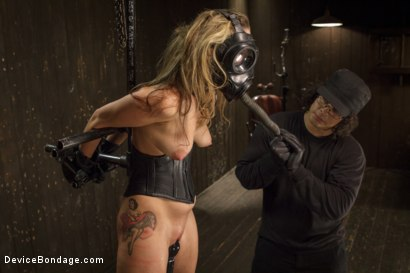 Photo number 12 from Hot Blonde is devastated by sadistic torment and screaming orgasms!!  shot for Device Bondage on Kink.com. Featuring Orlando and Dallas Blaze in hardcore BDSM & Fetish porn.