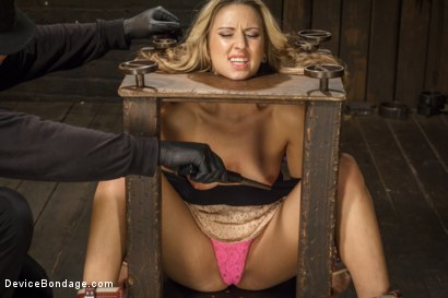 Photo number 2 from Hot Blonde is devastated by sadistic torment and screaming orgasms!!  shot for Device Bondage on Kink.com. Featuring Orlando and Dallas Blaze in hardcore BDSM & Fetish porn.