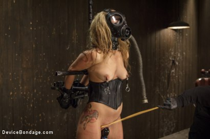 Photo number 9 from Hot Blonde is devastated by sadistic torment and screaming orgasms!!  shot for Device Bondage on Kink.com. Featuring Orlando and Dallas Blaze in hardcore BDSM & Fetish porn.