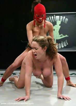 Photo number 14 from The Ninja (Lifetime 14-2) vs<br>Da Bomb (Lifetime 0-1) shot for Ultimate Surrender on Kink.com. Featuring Christina Carter and Crimson Ninja in hardcore BDSM & Fetish porn.