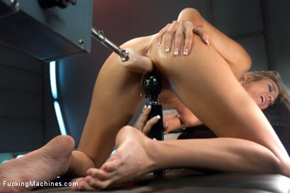 Photo number 15 from Holy Shit, New Girl - Stop setting the bar so high! shot for Fucking Machines on Kink.com. Featuring Amanda Tate in hardcore BDSM & Fetish porn.