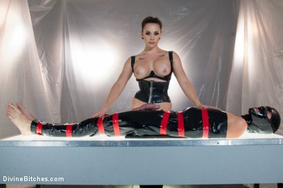 Photo number 12 from Chanel Preston's Divine Latex: Used, Teased and Denied! shot for Divine Bitches on Kink.com. Featuring Chanel Preston and Tony Orlando in hardcore BDSM & Fetish porn.