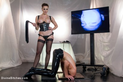 Photo number 9 from Chanel Preston's Divine Latex: Used, Teased and Denied! shot for Divine Bitches on Kink.com. Featuring Chanel Preston and Tony Orlando in hardcore BDSM & Fetish porn.