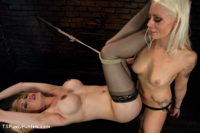 Photo number 13 from A different Hunt:Lorelei Lee binds Eva Lin in Sexy Inescapable Bondage shot for TS Pussy Hunters on Kink.com. Featuring Eva Lin and Lorelei Lee in hardcore BDSM & Fetish porn.