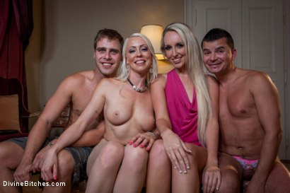 Photo number 14 from Divine Bitches Takes on Eastern Europe! Slaveboy Games: Are You Worthy? Episode 1 shot for Divine Bitches on Kink.com. Featuring Jenny Simons, Marco Bon Phoenix, Richy and Lorelei Lee in hardcore BDSM & Fetish porn.