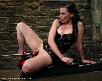Photo number 2 from Ariel X shot for Fucking Machines on Kink.com. Featuring Ariel X in hardcore BDSM & Fetish porn.
