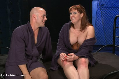 Photo number 12 from Begging To Cum shot for Fucked and Bound on Kink.com. Featuring Derrick Pierce and Julie Simone in hardcore BDSM & Fetish porn.