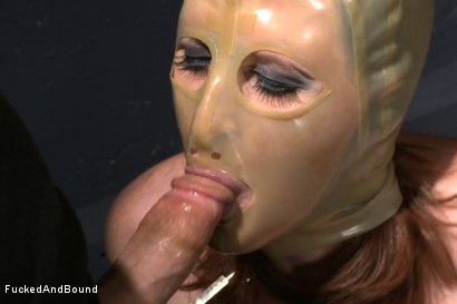 Photo number 3 from Begging To Cum shot for Fucked and Bound on Kink.com. Featuring Derrick Pierce and Julie Simone in hardcore BDSM & Fetish porn.