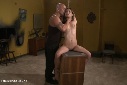 Photo number 2 from One Happy Slave shot for Fucked and Bound on Kink.com. Featuring Derrick Pierce and Amber Rayne in hardcore BDSM & Fetish porn.