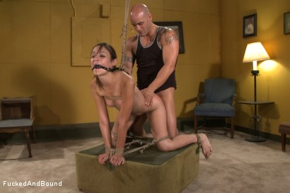 Photo number 7 from One Happy Slave shot for Fucked and Bound on Kink.com. Featuring Derrick Pierce and Amber Rayne in hardcore BDSM & Fetish porn.
