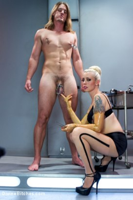 Photo number 5 from Weird Science Femdom shot for Divine Bitches on Kink.com. Featuring Lorelei Lee and Kip Johnson in hardcore BDSM & Fetish porn.