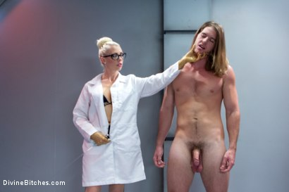 Photo number 14 from Weird Science Femdom shot for Divine Bitches on Kink.com. Featuring Lorelei Lee and Kip Johnson in hardcore BDSM & Fetish porn.