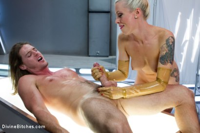Photo number 7 from Weird Science Femdom shot for Divine Bitches on Kink.com. Featuring Lorelei Lee and Kip Johnson in hardcore BDSM & Fetish porn.