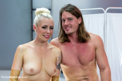 Photo number 9 from Weird Science Femdom shot for Divine Bitches on Kink.com. Featuring Lorelei Lee and Kip Johnson in hardcore BDSM & Fetish porn.