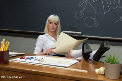 Photo number 5 from Cherry Torn schools 19-year-old Paris Lincon in her first porn ever! shot for Whipped Ass on Kink.com. Featuring Cherry Torn and Paris Lincoln in hardcore BDSM & Fetish porn.