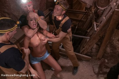 Photo number 1 from The Legend of Clementine Caves shot for Hardcore Gangbang on Kink.com. Featuring John Strong, Tommy Pistol, Astral Dust, Bill Bailey, Mr. Pete and Cassandra Nix in hardcore BDSM & Fetish porn.