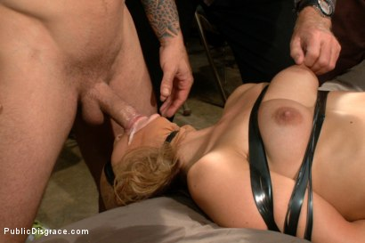 Photo number 11 from 20 Year Old Amateur Bound and Disgraced shot for Public Disgrace on Kink.com. Featuring Mr. Pete and Dallas Blaze in hardcore BDSM & Fetish porn.