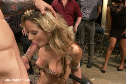 Photo number 2 from 20 Year Old Amateur Bound and Disgraced shot for Public Disgrace on Kink.com. Featuring Mr. Pete and Dallas Blaze in hardcore BDSM & Fetish porn.
