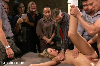 Photo number 8 from 20 Year Old Amateur Bound and Disgraced shot for Public Disgrace on Kink.com. Featuring Mr. Pete and Dallas Blaze in hardcore BDSM & Fetish porn.