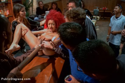 Photo number 8 from Hot young squirter with a fetish for medical play shot for Public Disgrace on Kink.com. Featuring Tommy Pistol and Daisy Ducati in hardcore BDSM & Fetish porn.