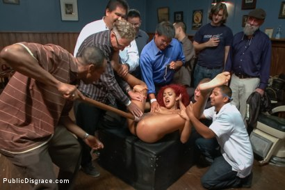 Photo number 11 from Hot young squirter with a fetish for medical play shot for Public Disgrace on Kink.com. Featuring Tommy Pistol and Daisy Ducati in hardcore BDSM & Fetish porn.
