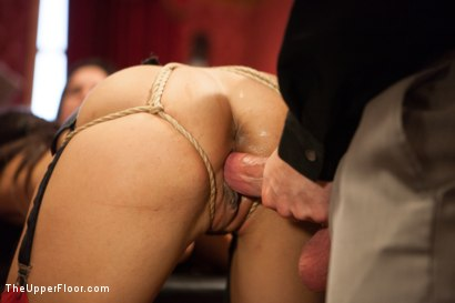 Photo number 7 from Slave Lyla's Anal Return, and the Order of Authority shot for The Upper Floor on Kink.com. Featuring Bill Bailey, Juliette March and Lyla Storm in hardcore BDSM & Fetish porn.
