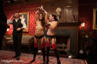 Photo number 15 from Slave Lyla's Anal Return, and the Order of Authority shot for The Upper Floor on Kink.com. Featuring Bill Bailey, Juliette March and Lyla Storm in hardcore BDSM & Fetish porn.