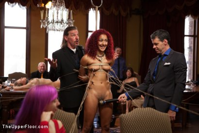 Photo number 3 from Daisy Ducati Petitions to Serve the House, and Anal Slut Zoey Monroe Gets Fucked in the Ass shot for The Upper Floor on Kink.com. Featuring Bill Bailey, Daisy Ducati and Zoey Monroe in hardcore BDSM & Fetish porn.