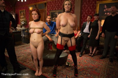Photo number 15 from Beautiful Cock Suckers, Part Two shot for The Upper Floor on Kink.com. Featuring Mickey Mod, Penny Pax and Bella Rossi in hardcore BDSM & Fetish porn.