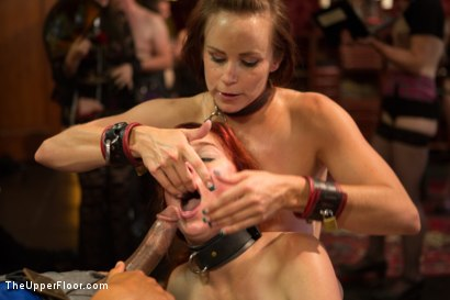 Photo number 14 from Beautiful Cock Suckers, Part Two shot for The Upper Floor on Kink.com. Featuring Mickey Mod, Penny Pax and Bella Rossi in hardcore BDSM & Fetish porn.