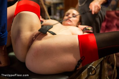Photo number 13 from Beautiful Cock Suckers, Part Two shot for The Upper Floor on Kink.com. Featuring Mickey Mod, Penny Pax and Bella Rossi in hardcore BDSM & Fetish porn.