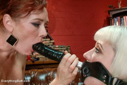 Photo number 9 from Cherry's Ultimate Anal Experience!!! shot for Everything Butt on Kink.com. Featuring Audrey Hollander and Cherry Torn in hardcore BDSM & Fetish porn.